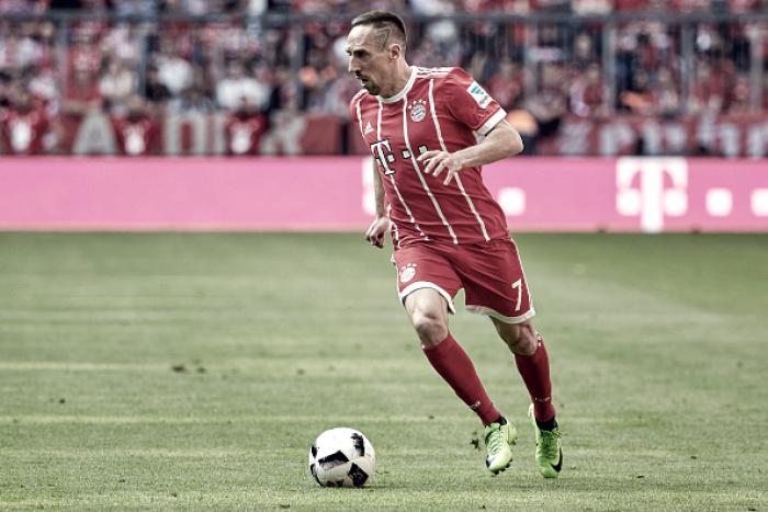 Ribéry completa uma década de Bayern de Munique