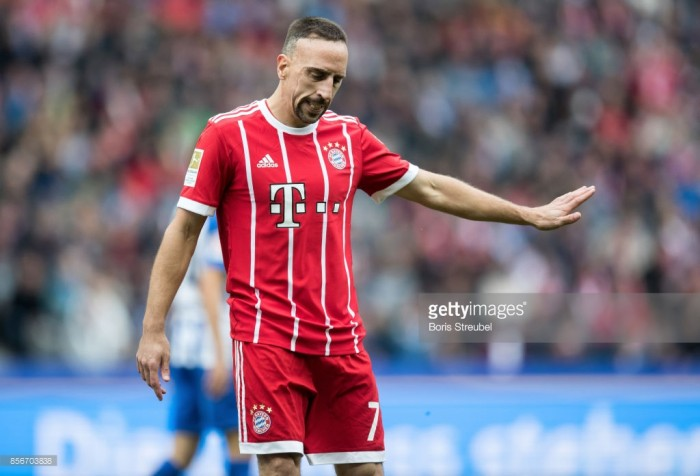Franck Ribery set for another lengthy injury lay-off as Bayern struggles go on