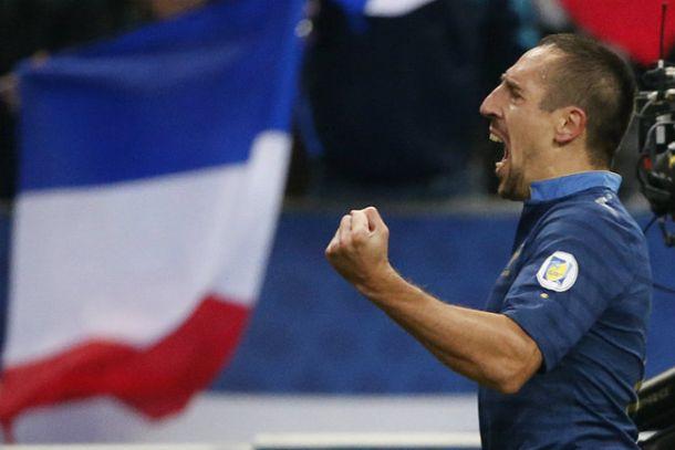 Les notes des Bleus : Ribéry encore au sommet