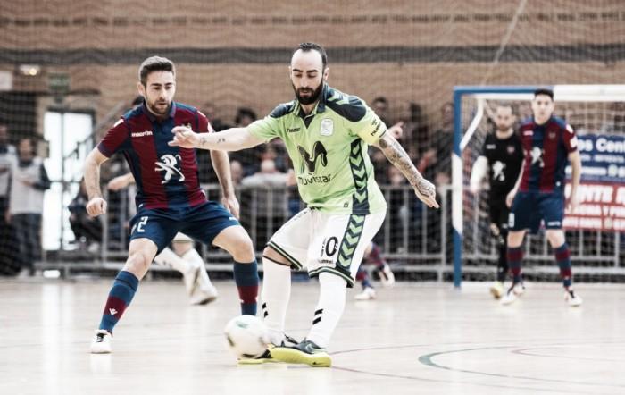 Previa Levante - Inter Movistar: la Copa o ser primeros