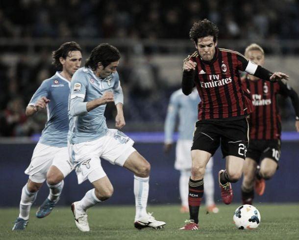 Lazio - Milan: primer asalto de dos encuentros en cuatro dias