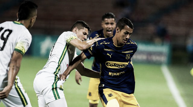 La magia de Andrés Riacurte, presente en la ida de los cuartos de final de la Liga Águila