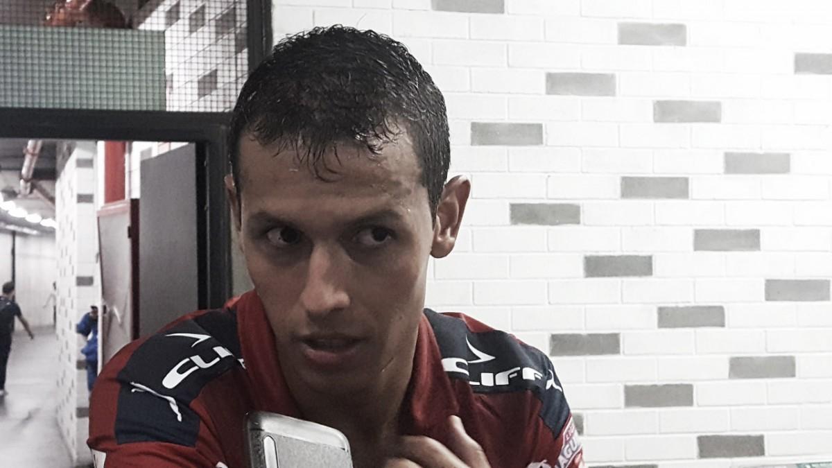 """Andrés Ricaurte: """"La presión alta nos surtió buen efecto y facilitó el trabajo adelante"""""""