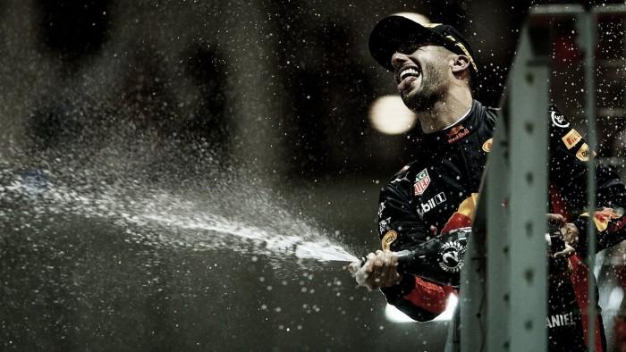 """Daniel Ricciardo: """"Realmente no pudimos con Lewis"""""""
