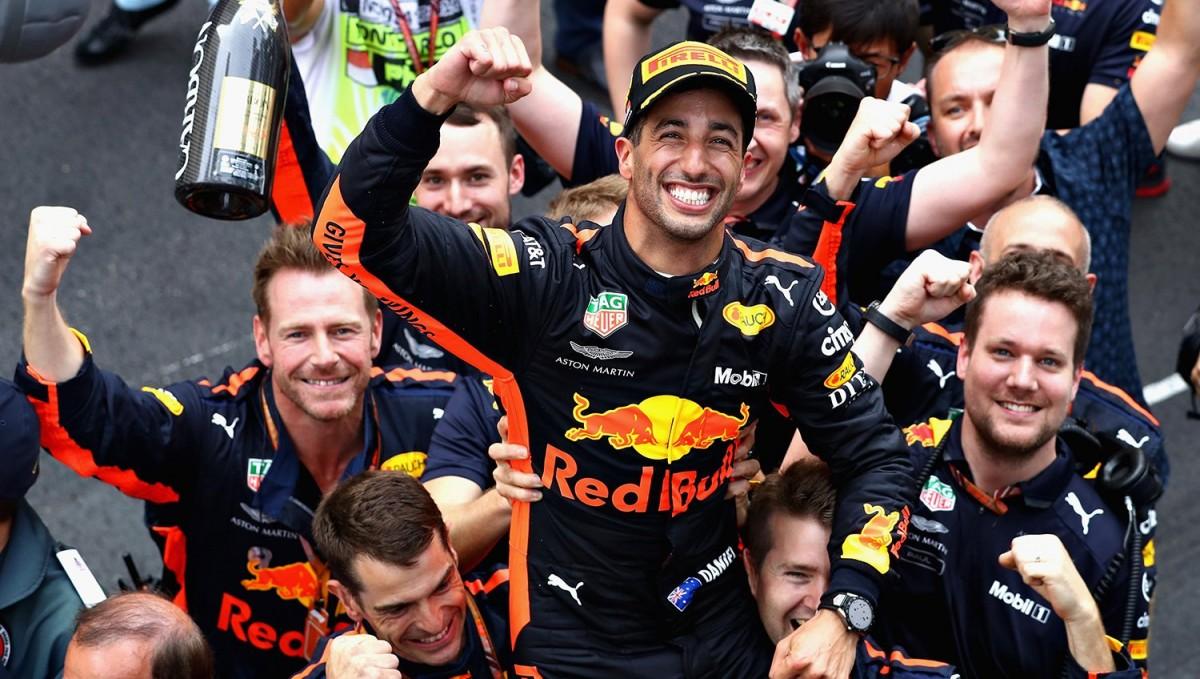 F1, Gp di Monaco - Ricciardo vince davanti a Vettel: le parole dal podio