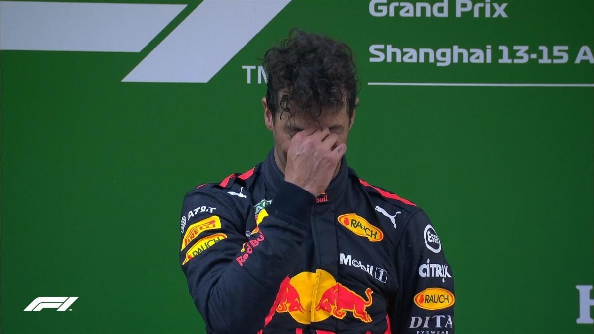"""F1 Gp di Cina - Le parole dal podio, Ricciardo: """"Quando vinco, le gare non sono mai noiose"""""""