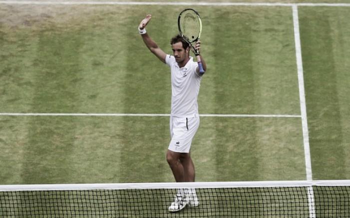 Poderá Richard Gasquet vencer na grama sagrada de Wimbledon?