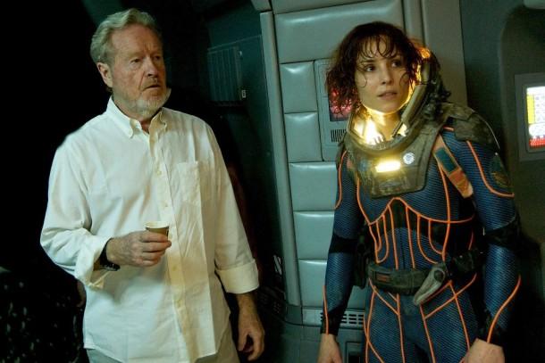 La trama de'Alien: Covenant'devalúa a Rapace y eleva a Fassbender