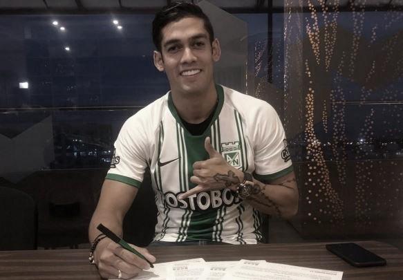 El 'Rifle' Andrade es nuevo jugador de Atlético Nacional