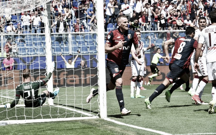 Genoa-Torino, i rossoblu festeggiano la salvezza. Le parole nel post partita