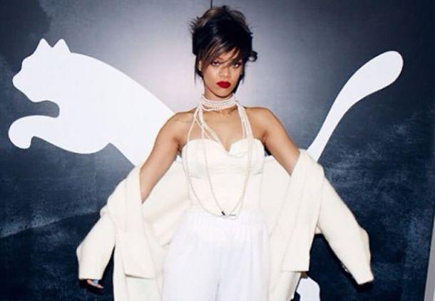 Rihanna, nueva diseñadora de Puma
