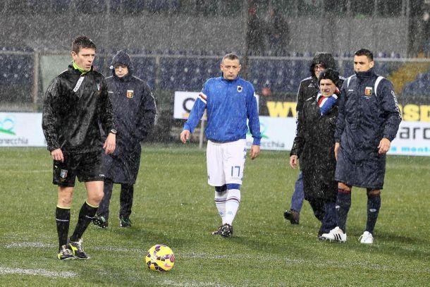 Sampdoria - Bologna, allarme meteo: a rischio la gara