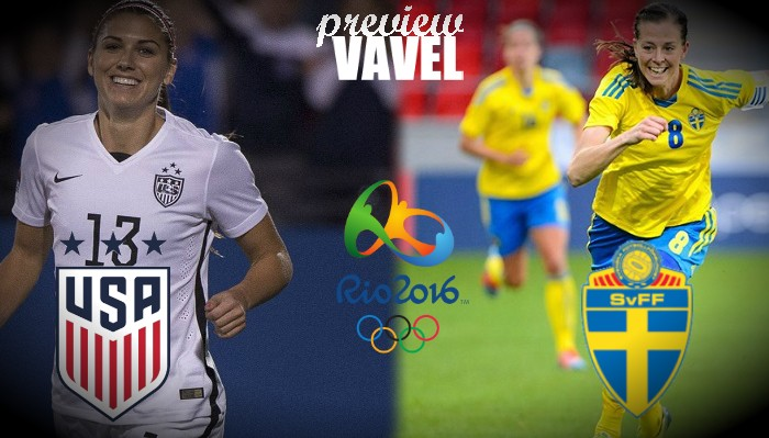 Rio 2016: United States, Sweden battle for semifinal spot