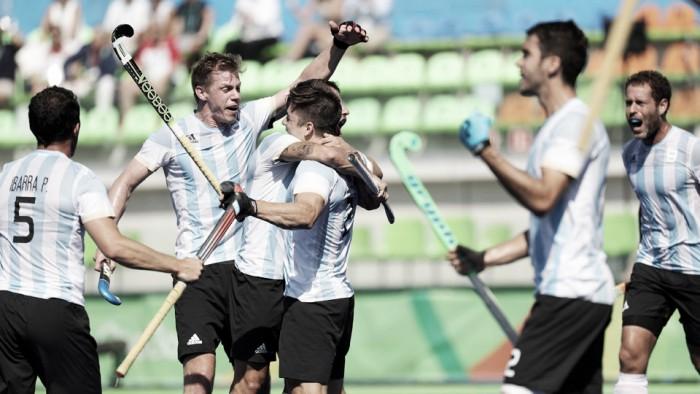 Argentina vs Bélgica EN VIVO y en directo en la final de hockey masculino de Río 2016 (0-0)