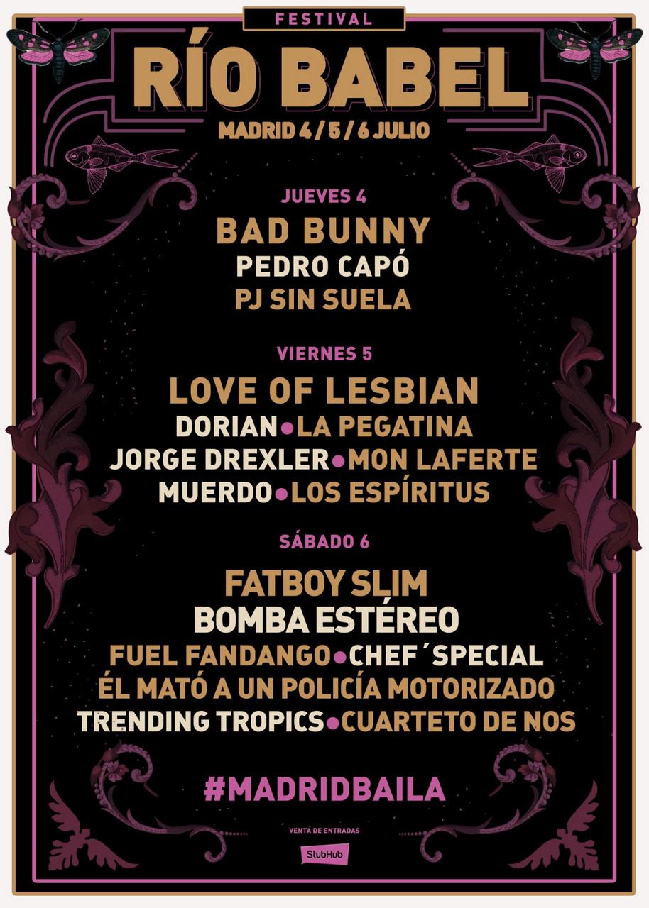 El festival Río Babel está listo para agitar Madrid
