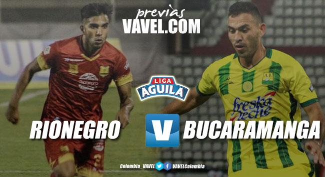 Previa Rionegro Águilas vs Atlético Bucaramanga: por la clasificación y la consolidación