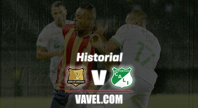 Historial Rionegro Águilas vs. Deportivo Cali: ventaja 'azucarera'