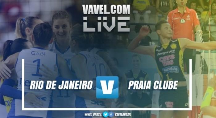 Resultado Praia Clube x Rio de Janeiro pela final do Campeonato Sul-Americano de vôlei (1-3)