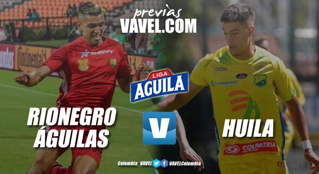 Previa Rionegro Águilas vs Atlético Huila: por tres puntos con el descenso al acecho