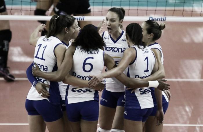 Rio de Janeiro vence o Manila e começa bem Mundial Feminino de Clubes de Voleibol