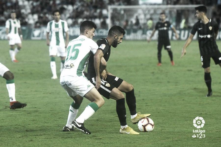 Córdoba - Almería: puntuaciones del UD Almería, jornada 8 LaLiga 1|2|3
