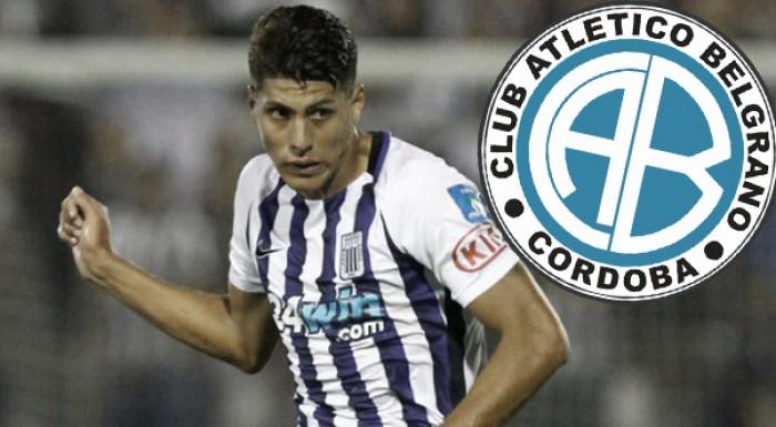 Hansell Riojas es el nuevo jugador del Belgrano de Córdoba