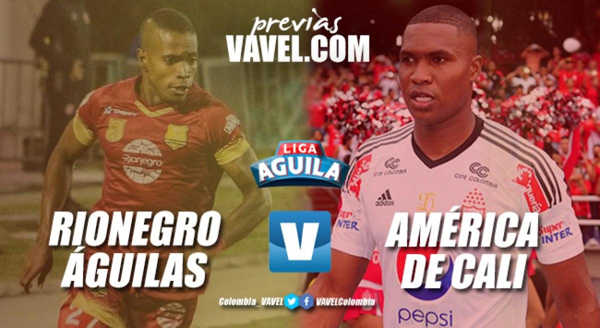 Previa Rionegro Águilas vs América de Cali: los 'diablos rojos' sueñan con los playoffs