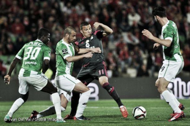 Jorge Jesus 'matou' Benfica com 4-1-4 de inferioridade numérica