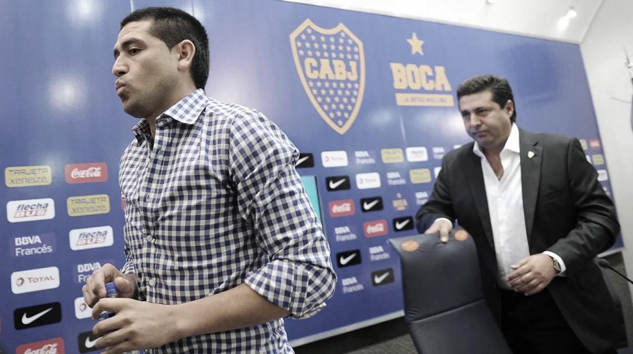 "Juan Román Riquelme: ""Voy a formar parte de la lista con Ameal"""