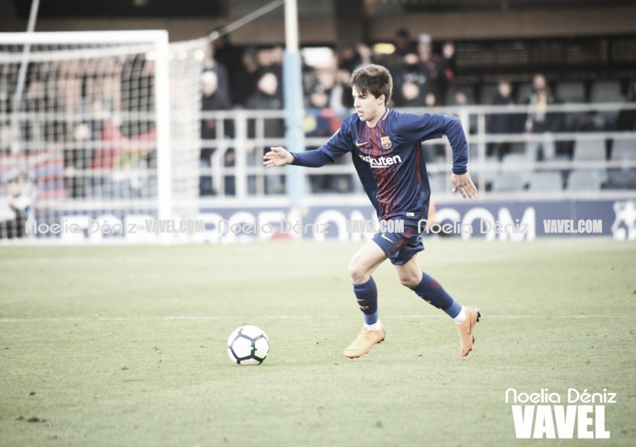 Convocatoria del Barça B para medirse al líder