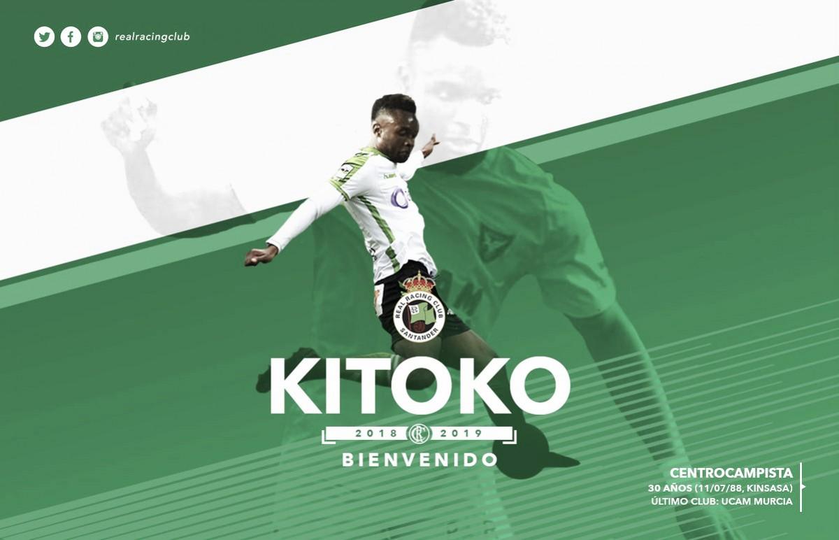 Kitoko es nuevo jugador del Racing de Santander