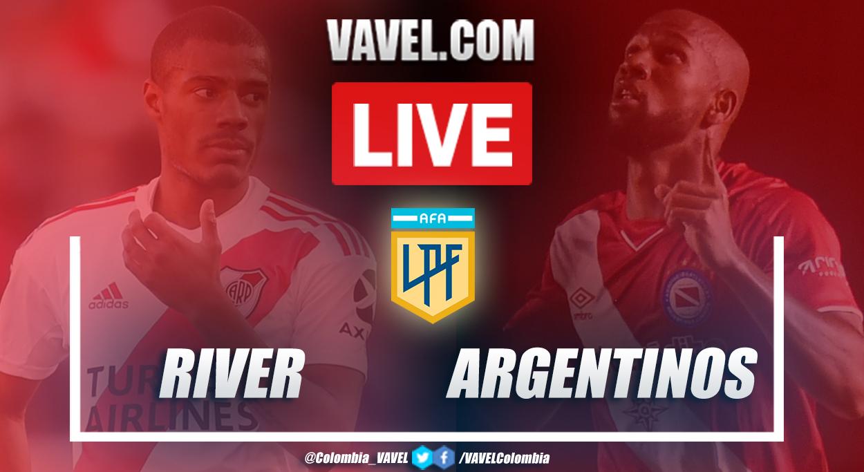 Resumen: River vs Argentinos (1-1) por Copa Diego Armando Maradona