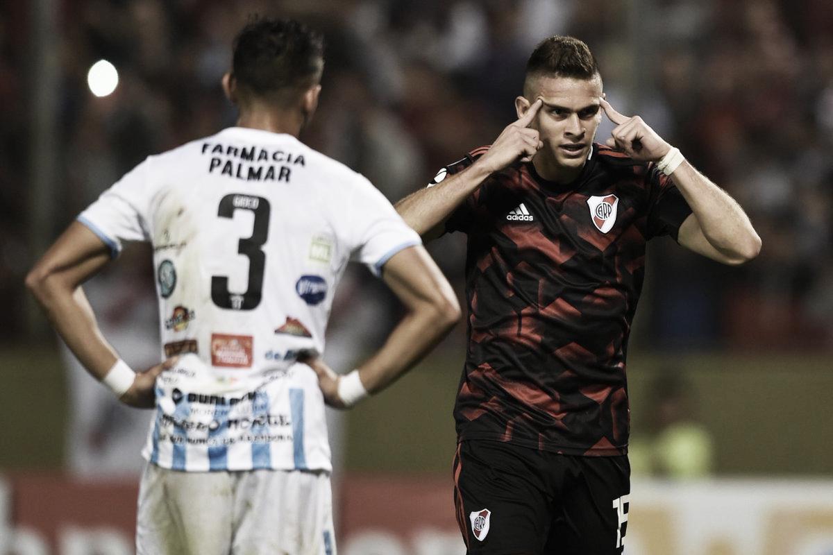 River goleó a Argentino de Merlo y pasó a la siguiente instancia de la Copa Argentina
