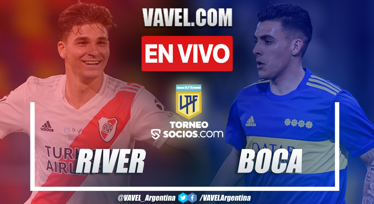 Resumen y goles: River Plate 2-1 Boca Juniors por La Liga Profesional 2021