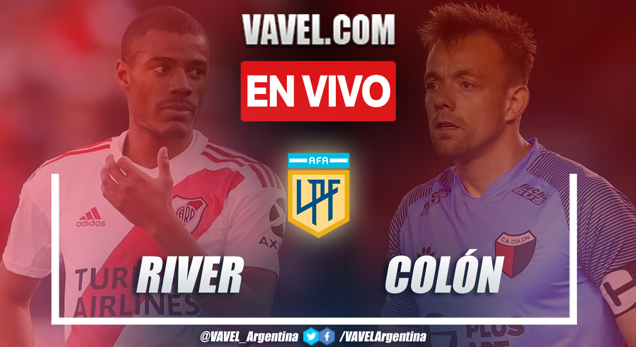 Resumen: River vs Colón (1-2) en la fecha 1 de la Liga Profesional
