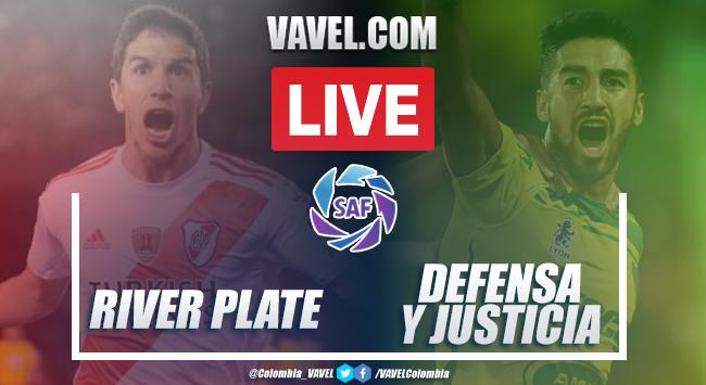 Resumen y goles: River 1-1 Defensa y Justicia por la Superliga 2020