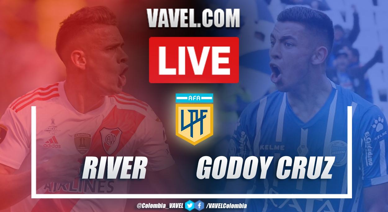 Resumen: River vs Godoy Cruz (3-1) por la Copa Diego Armando Maradona