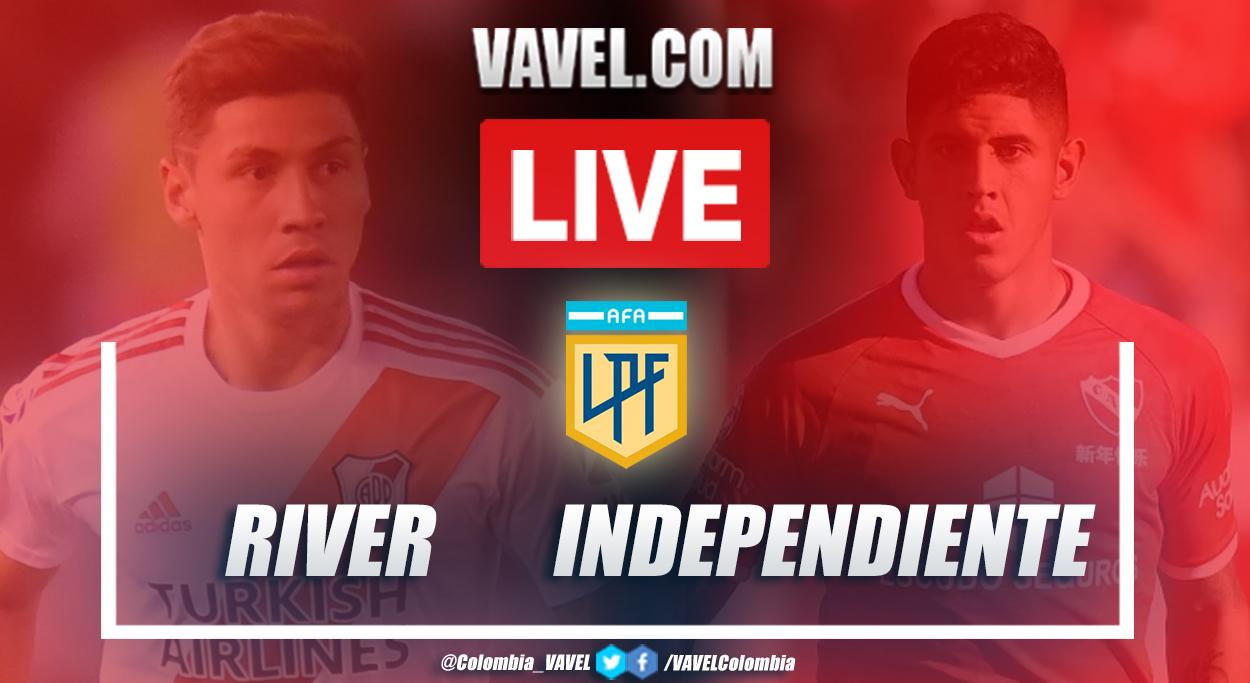 Resumen: River vs Independiente (0-2) en Copa Diego Armando Maradona