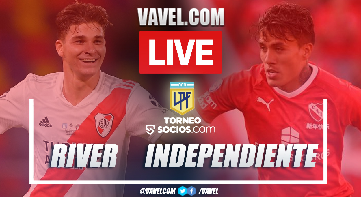 Goals and Highlights: River 1-1 Independiente in Liga Profesional Argentina 2021