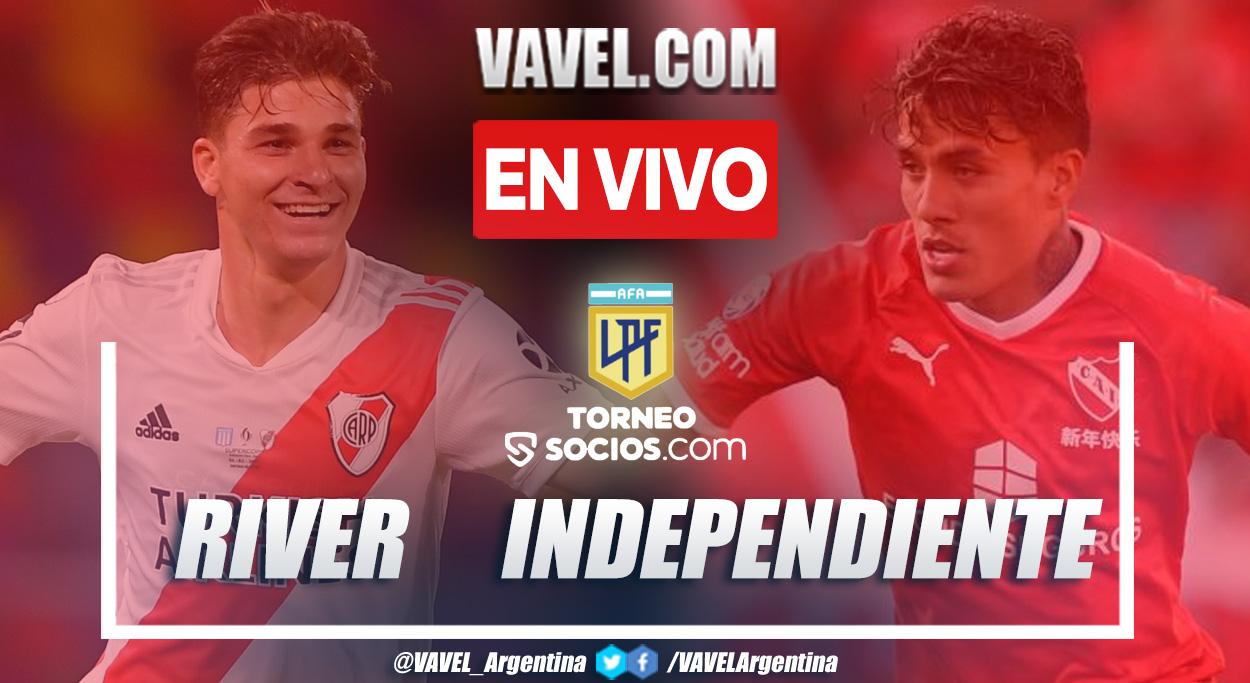 Resumen y goles: River 1-1 Independiente en la fecha 10 por Liga Profesional Argentina 2021