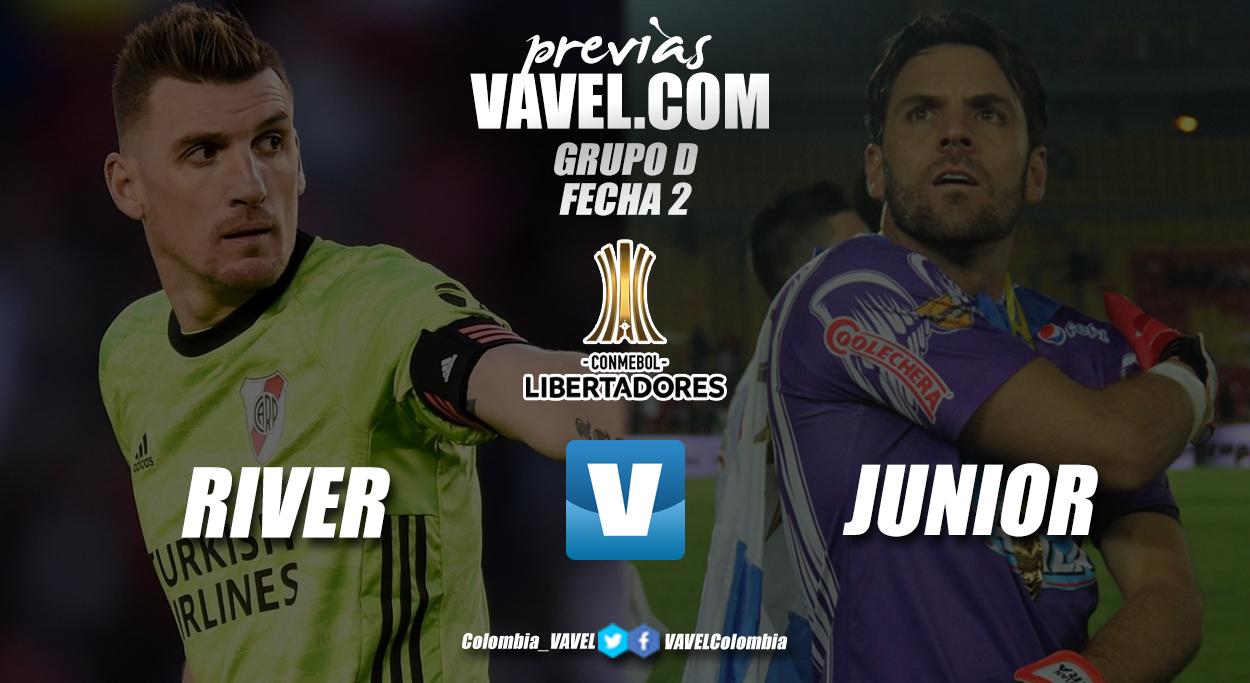 Previa River Plate vs. Junior de Barranquilla: choque de colosos en el grupo D