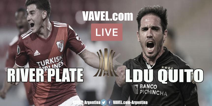 Resultado River Plate vs. LDU Quito por Copa Libertadores 2020 (3-0)