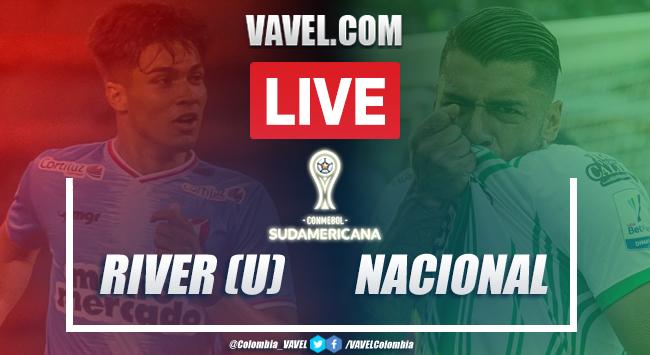 Resumen River vs Nacional en Copa Sudamericana (3-1)