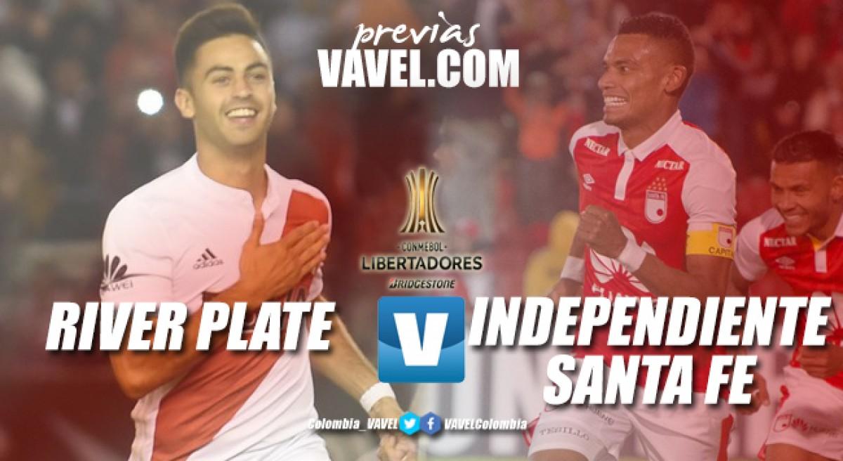 Previa River Plate Vs Santa Fe: vuelve la acción al grupo 4 de la Copa Libertadores 2018