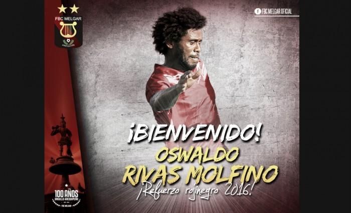 Melgar sumó a Oswaldo Rivas Molfino