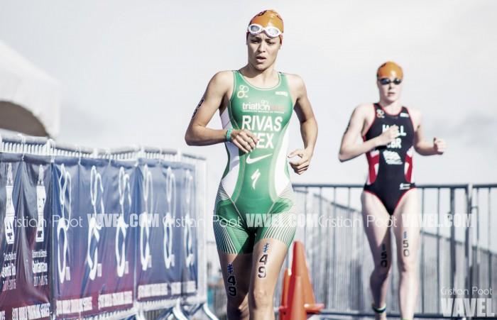 Claudia Rivas y Cecilia Pérez terminaron en el lugar 15 y 40 del Campeonato Mundial de Triatlón