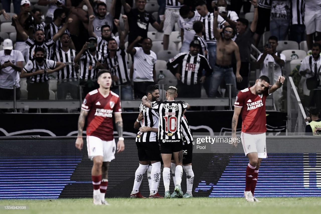 River no pudo realizar el 'Mineirazo' y se despide de la Copa Libertadores