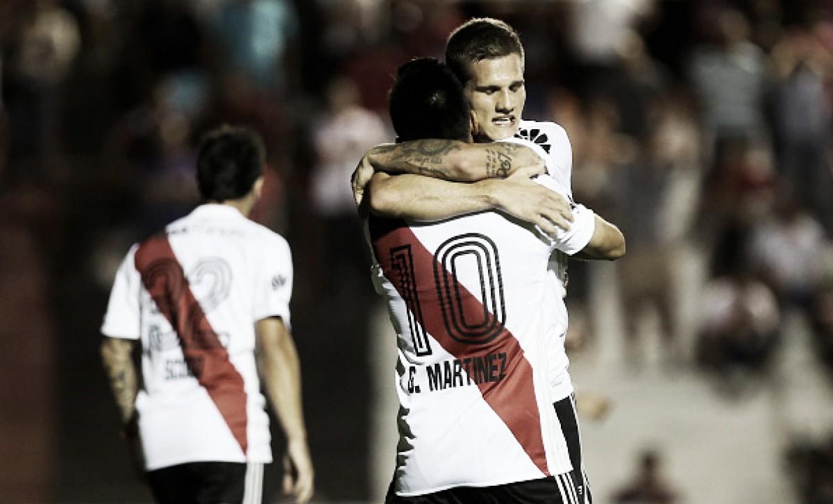 Depois de sete tropeços, River volta a vencer fora de casa pela Superliga Argentina