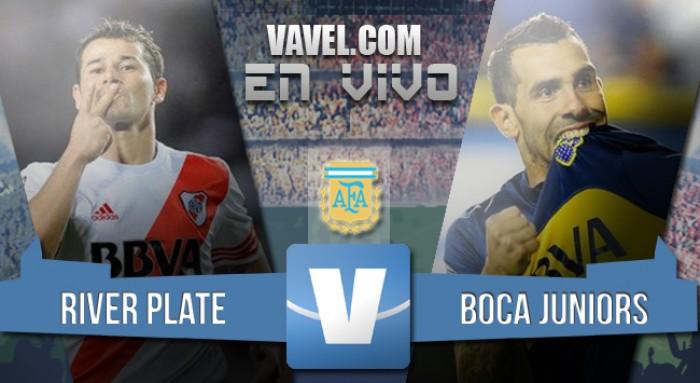 Resultado River 0-0 Boca Juniors en Superclásico 2016