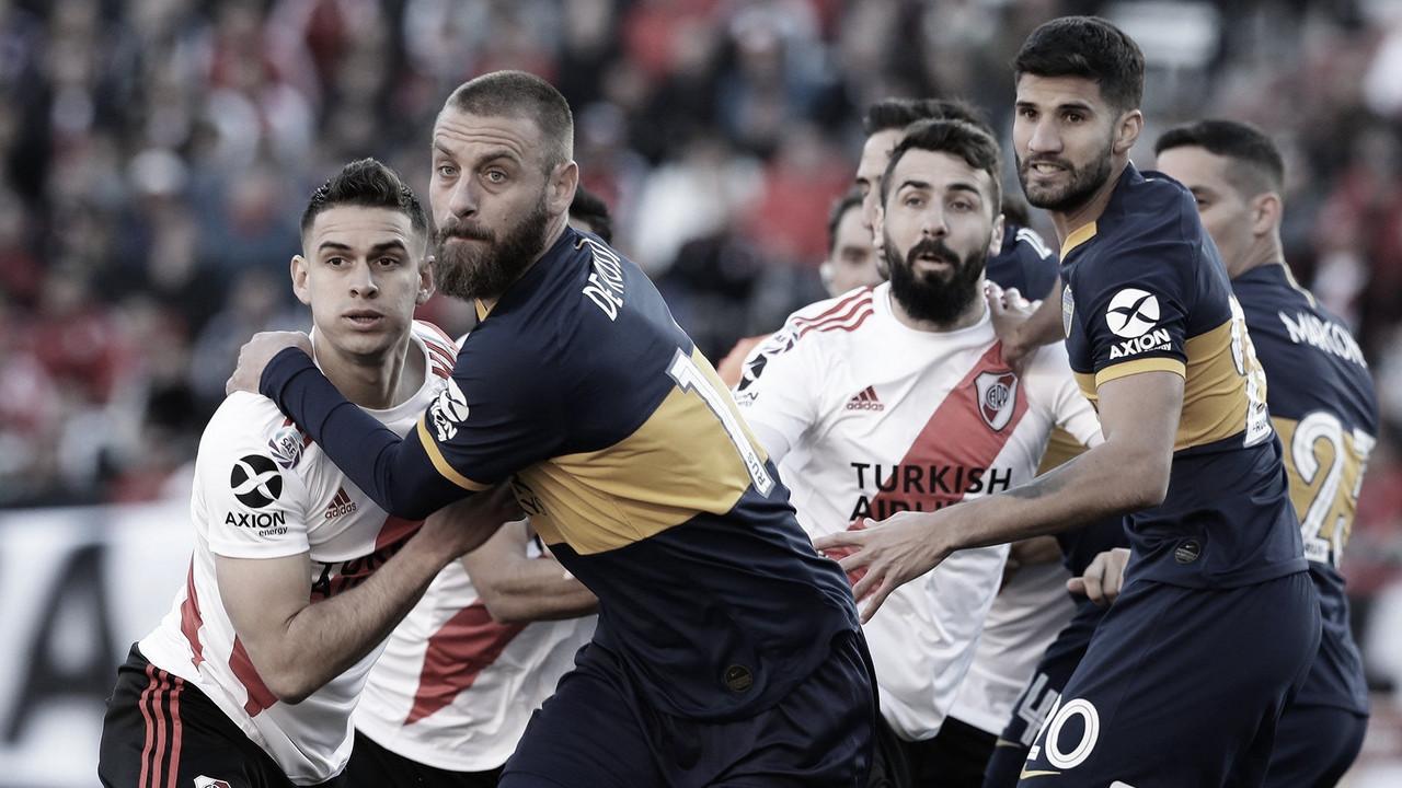 Boca - River: el historial en Copa Libertadores